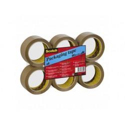 Verpakkingstape Scotch 50mmx66m PVC br/6