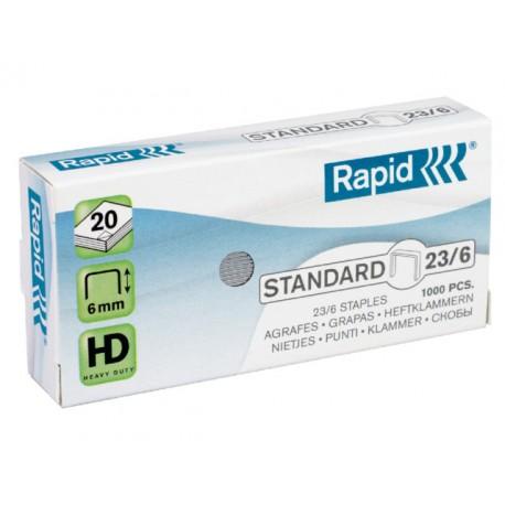Nieten Rapid 23/6 verzink/doos10x1000