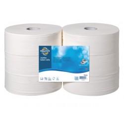 Toiletpapier BRPR jumbo 2lg wit/pk6x340m
