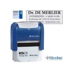 Stempel Colop Printer 20 38x14mm