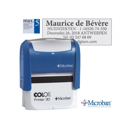 Stempel Colop Printer 30 47x18mm