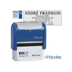 Stempel Colop Printer 40 59x23mm