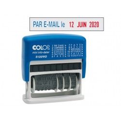 Stempel Colop mini-dater S120/WD FR