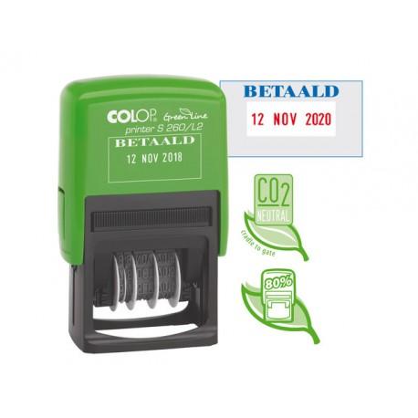 Stempel Colop Printer S260/L2 GL BETAALD