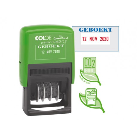 Stempel Colop Printer S260/L3 GL GEBOEKT