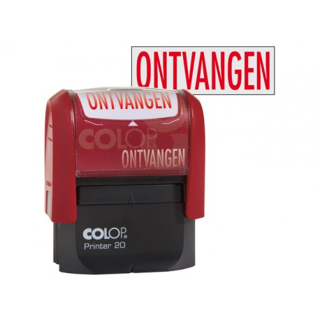 Stempel Colop Printer 20/L ONTVANGEN
