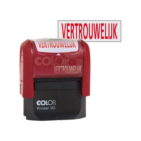 Stempel Colop Printer 20/L VERTROUWELIJK