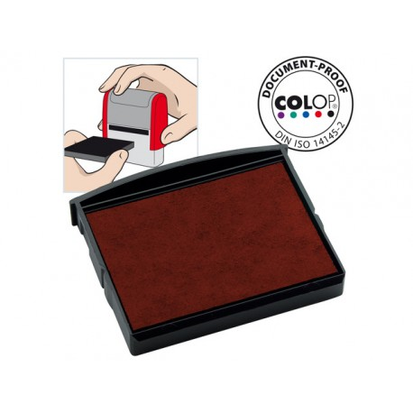 Inktkussen Colop E/2100 rood/pak 2