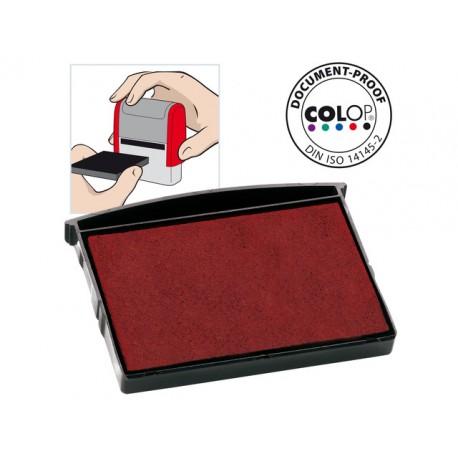 Inktkussen Colop E/2600 rood/pak 2