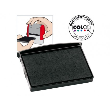 Inktkussen Colop E/2600 zwart/pak 2