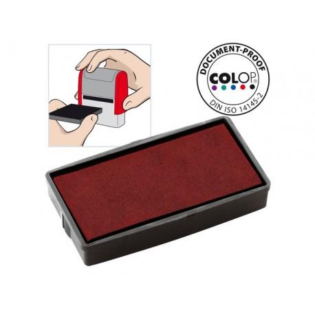 Inktkussen Colop E/20 rood/pak 2