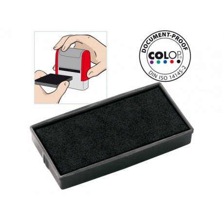 Inktkussen Colop E/30 zwart/pak 2