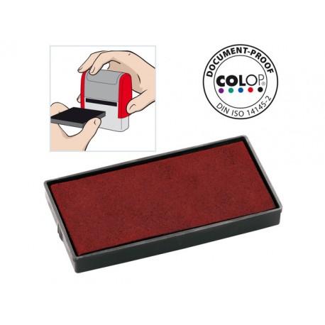 Inktkussen Colop E/40 rood/pak 2