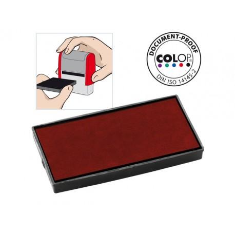Inktkussen Colop E/50 rood/pak 2