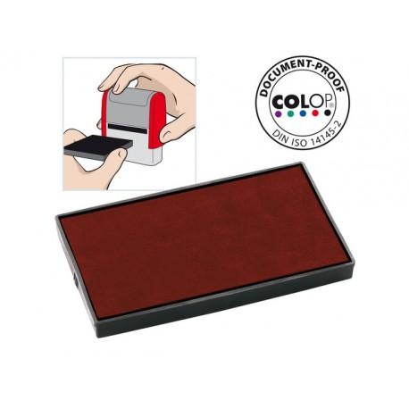 Inktkussen Colop E/60 rood/pak 2