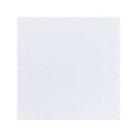 Servet Duni 33x33cm 2lgs wit/pk300