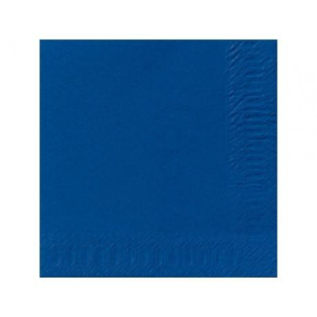 Servet Duni 33x33cm 3lgs d. blauw/pk125