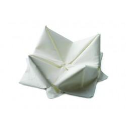 Servet Duni 33x33cm 3lgs wit/pk125