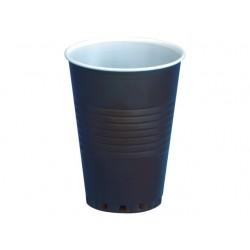 Drinkbeker kunststof 180cc br-wit/pk100