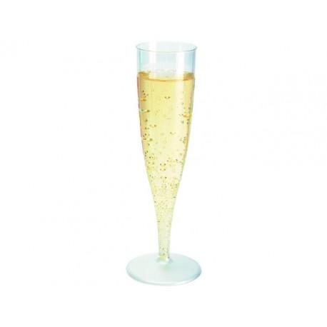 Champagneglazen Duni kunststof pk/10