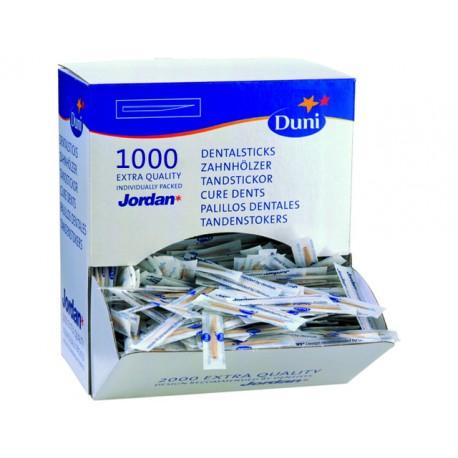 Tandenstokers Duni/Jordan mono pk/1000
