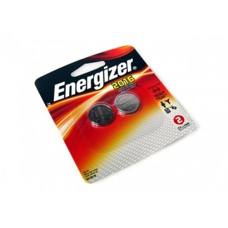 Batterij Energizer knoopcel CR2016/pak 2