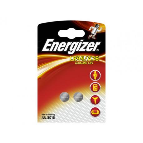 Batterij Energizer knoopcel LR44/A76/pk2