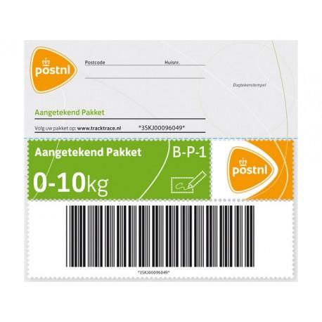 Zegel aangetekend NL pakket tot 10kg/pk5