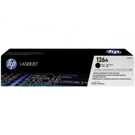 Toner HP CE310A 1,2K zwart