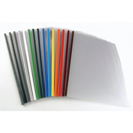 Inbindmap Steelmat A4 3mm blauw/doos 100