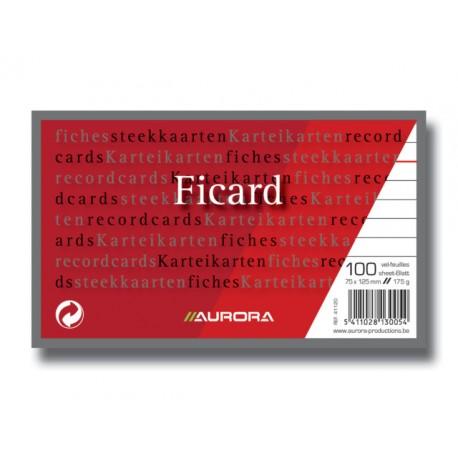 Systeemkaart Aurora 75x125 lijnpak 100