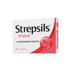 Zuigtablet keel Strepsils orig/ pak 24