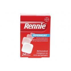 Maagtablet Rennie pocket/ pak 24