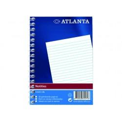Spiraalblok Atlanta A6/pak 20