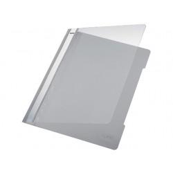 Hechtmap Leitz 4191 A4 PVC grijs/doos 25