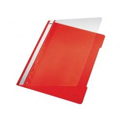 Hechtmap Leitz 4191 A4 PVC rood/doos 25