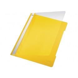 Hechtmap Leitz 4191 A4 PVC geel/doos 25