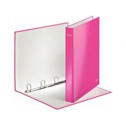 Ringband Leitz WOW 2D20 roze metallic