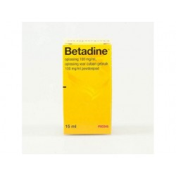 Betadine jodium 15 ml