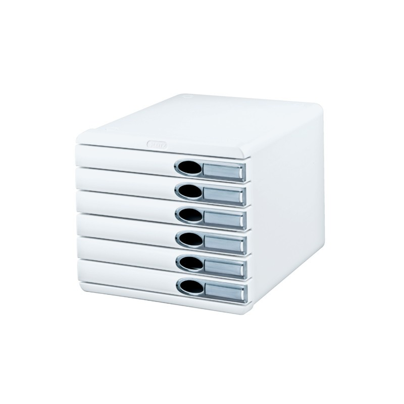 Leitz ladenblok leitz allura 6 laden wit for Ladenblok bureau wit