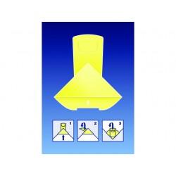 Paperclip Deltaclip Color karton gl/pk50