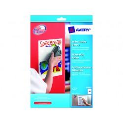 Etiket Avery write&wipe A4/pak 5v
