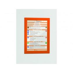 Duraframe Durable A4 oranje/pk 2
