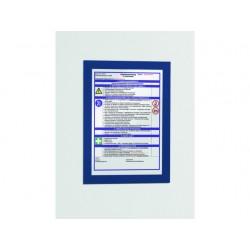 Duraframe Durable A4 donker blauw/pk 2