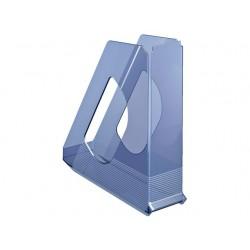 Tijdschriftcassette Solea A4 blauw