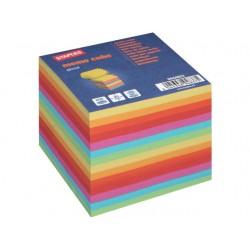 Notitieblok SPLS kubus gekleurd/bl 800v