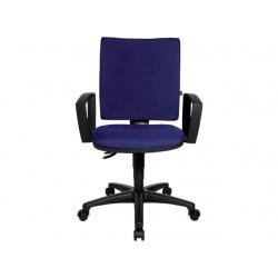 Bureaustoel zero blauw
