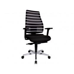 Bureaustoel Premium Staples zwart/wit