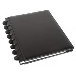 Notitieboek ARC A5 lijn leer zwart