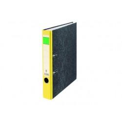 Ordner 50mm A4 karton rug geel
